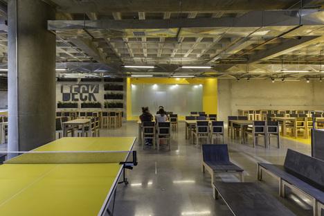 Ristorante DECK di RAMA Estudio, un locale certificato LEED