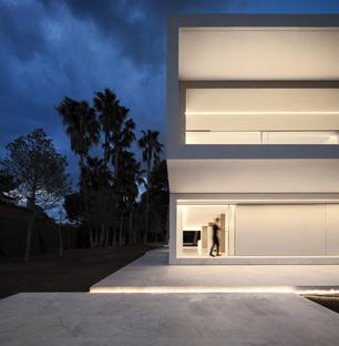 Fran Silvestre Arquitectos, una casa nella pineta