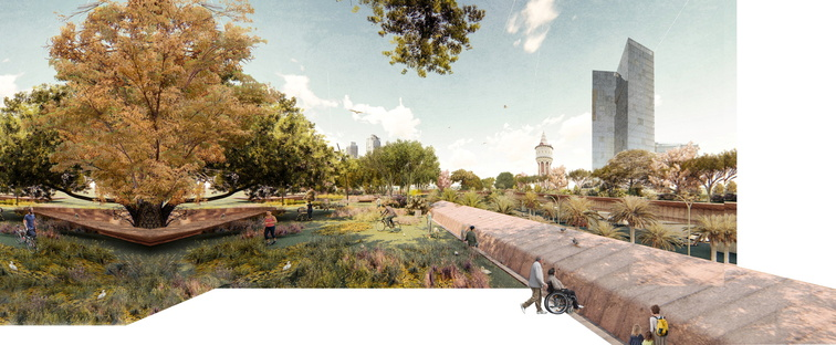 Mostra Barcel/on/a/line. Green urban strategies from river to river