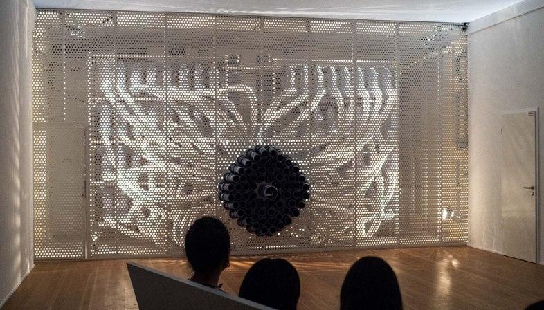 Osmodrama alla mostra Welt ohne Außen. Immersive Spaces since the 1960s