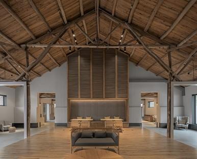 LOSTVILLA Huchen Barn Resort di Helen Wang, Ares Partners<br />