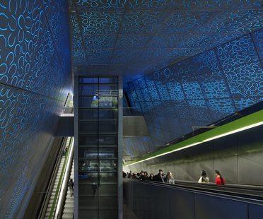 UW Transit Station, Seattle, di LMN Architects