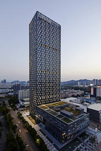 Longgang Chuangtou Tower in Shenzen