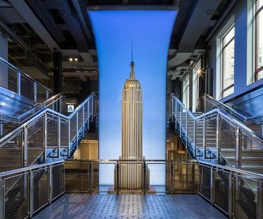Empire State Building, nuovo ingresso all'osservatorio, Beneville Studios