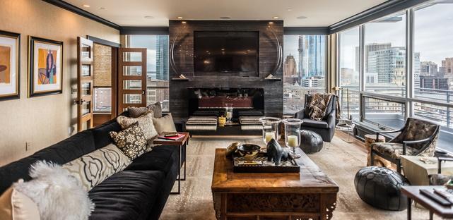Downtown Dream, premiato interior design di Andrea Farr