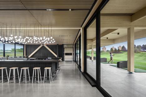 Architecture49, materiali regionali in vetrina per il Golf Exécutif Montréal