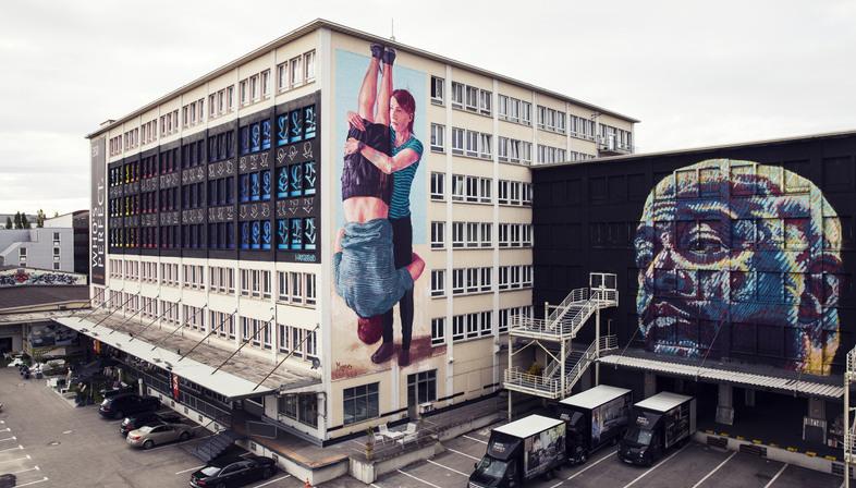 KUNSTLABOR a Monaco di Baviera, uso temporaneo creativo