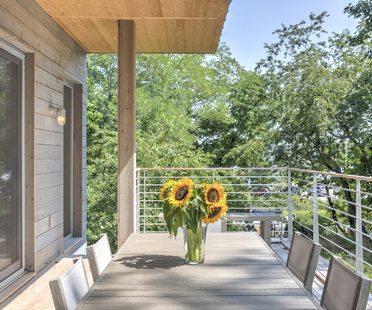 La casa passiva di Wayne Turett, Turett Collaborative New York