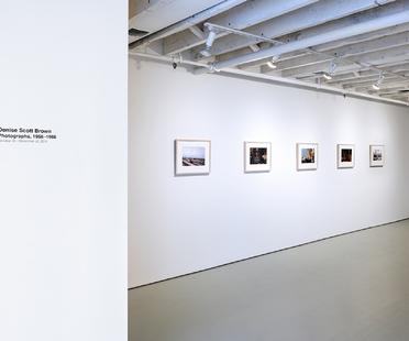 Mostra Denise Scott Brown Photographs, 1956-1966