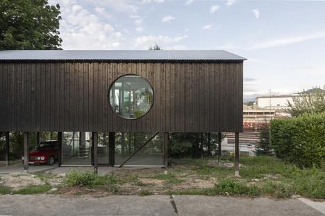 Casa CCFF di Leopold Banchini, una casa ecologica