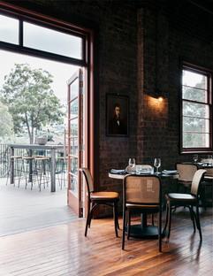 Ristorante Stanton & Co, recupero di un'architettura industriale a Sydney