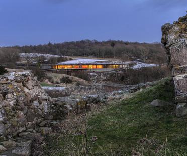 Hammershus Visitor Center a Bornholm, Danimarca