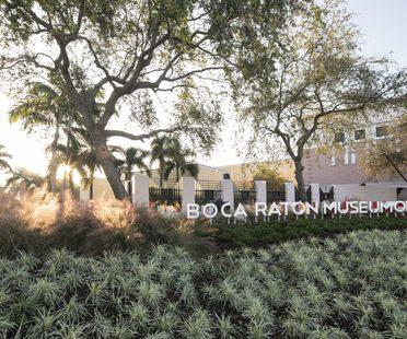 Glavovic Studio firma il rinnovo del Boca Raton Museum