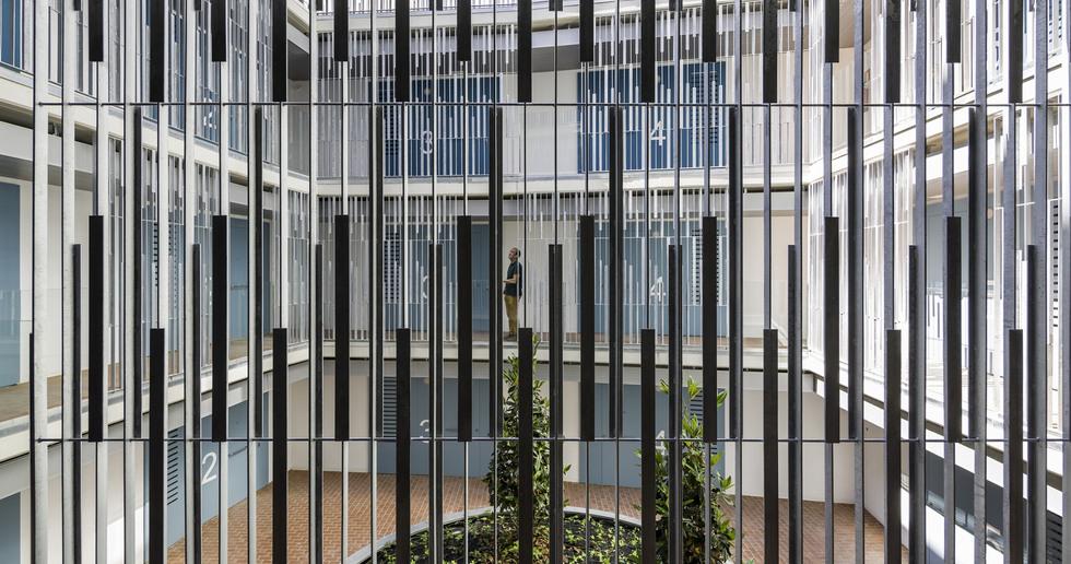 Social Housing sostenibile a Barcellona di Espinet/Ubach