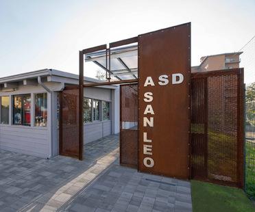 Un portale landmark per una ristrutturazione a Parma