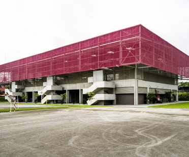 Una palestra bioclimatica ad Abidjan di Koffi & Diabaté Architects