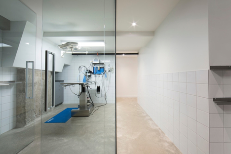Una clinica veterinaria a Montreal di TBA/Thomas Balaban Architecte
