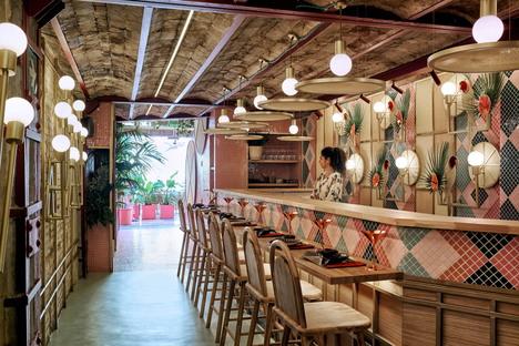 Masquespacio firma Kaikaya, ristorante sushi tropical