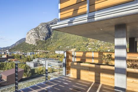 Panache di Edouard François a Grenoble, sostenibilità verticale