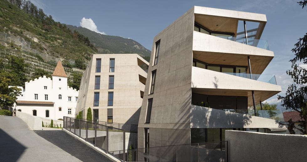 Schlossgarten, costruire nel contesto storico sudtirolese