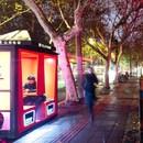 Orange Phone Booths di 100architects a Shanghai
