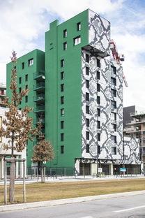 Un pitone a Grenoble, edificio di Edouard François
