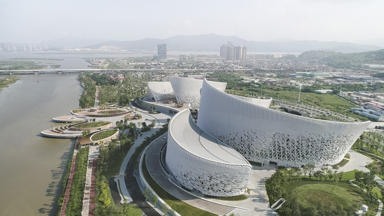 PES-Architects e il Fuzhou Strait Culture and Art Centre
