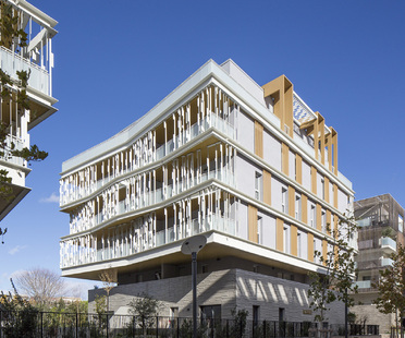 Complesso Luminescence di NBJ Architectes a Montpellier