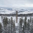 Una torre panoramica ad impatto ambientale limitato