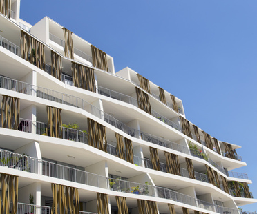 Lez in Art di NBJ Architectes, un condominio sostenibile a Montpellier