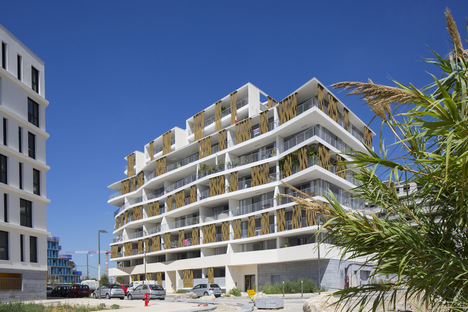 Lez in Art di NBJ Architectes, un condominio sostenibile a Montpellier