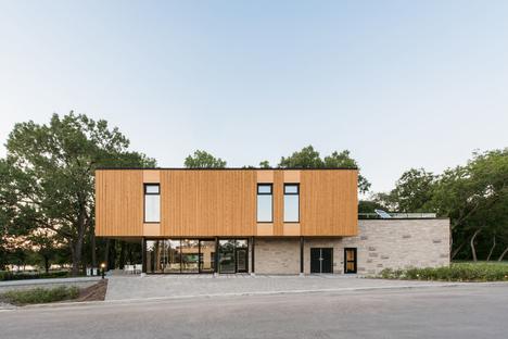Un padiglione sostenibile a Montreal