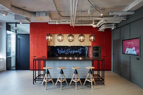 Studio Perspektiv crea i nuovi interni di WebSupport a Bratislava