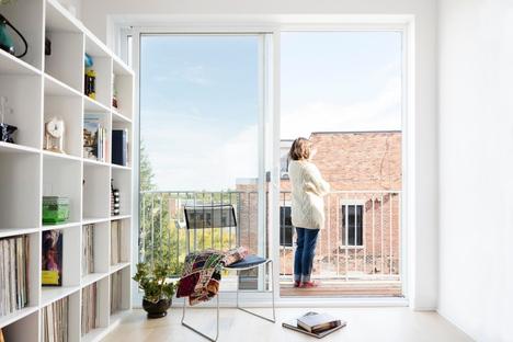 Le Jardinier, complesso residenziale sostenibile di ADHOC a Montreal