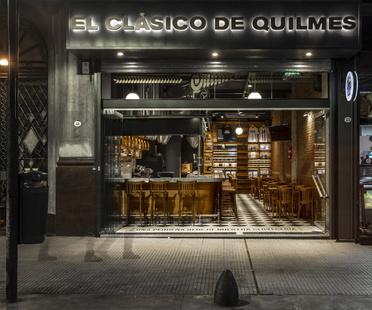 El Clásico de Quilmes, birreria di Hitzig Militello Arquitectos