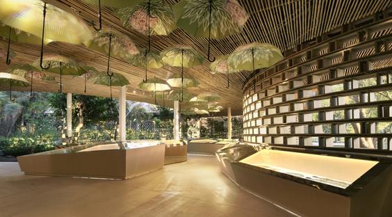 Discovery Pavilion per scoprire la biodiversità del fiume Dajia in Taiwan