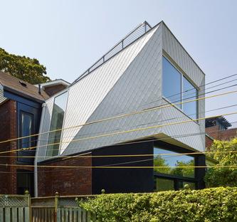 Galley House, estensione di una casa vittoriana a Toronto