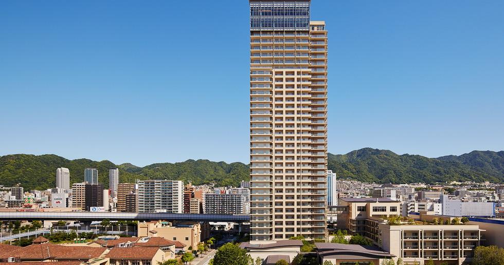 Sun City Kobe Tower di Richard Beard Architects