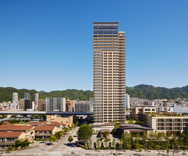 Sun City Kobe Tower di Richard Beard Architects
