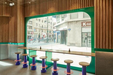 Masquespacio progetta il terzo negozio Kento a Valencia