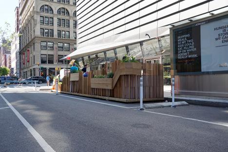 Street Seats 2019, torna lo spazio pubblico pop-up della Parsons School of Design