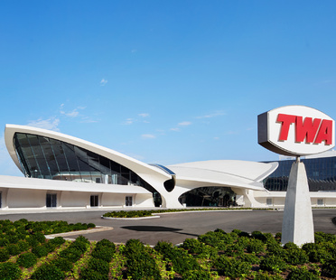 Ha riaperto il TWA Flight Center di Saarinen al JFK di New York