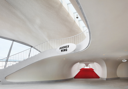 Ha riaperto il TWA Flight Center di Saarinen al JFK di New York