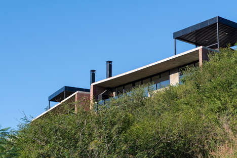 Casas MG, residenza con vista di Gonzalo Cabanillas