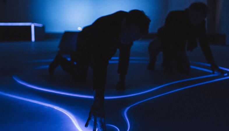 Studio Roosegaarde e BMWi, il paesaggio interattivo SYNC in anteprima ad Art Basel 2019