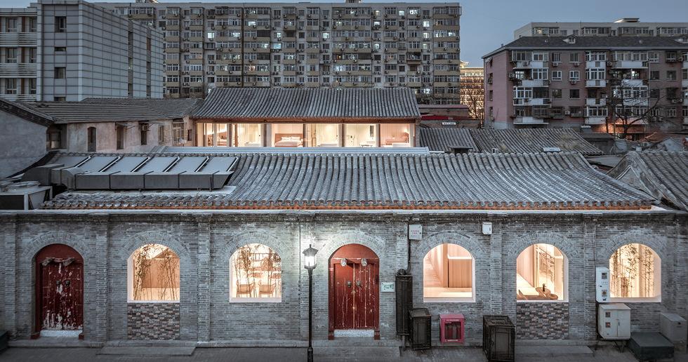 Layering Courtyard di ARCHSTUDIO a Pechino
