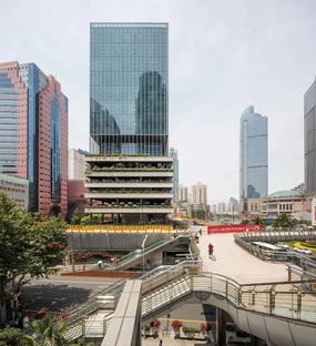 Jacques Ferrier Architecture e Sensual City Studio completano il T20 a Xujiahui, Cina