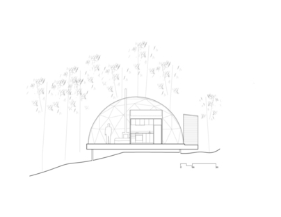 Eco-Resort di Bourgeois Lechasseur Architects