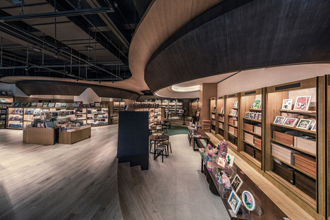 Lafonce Maxone, un complesso commerciale a tema di libro in Cina