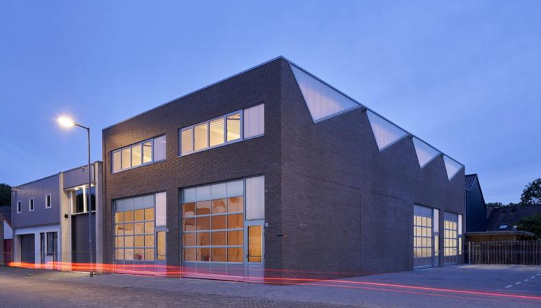 Architettura industriale sostenibile di derksen windt architecten
